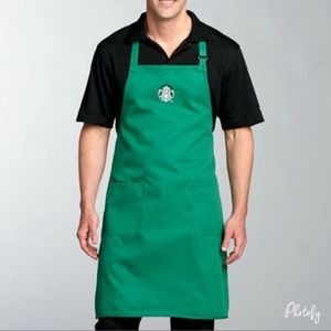 Starbucks Green Apron
